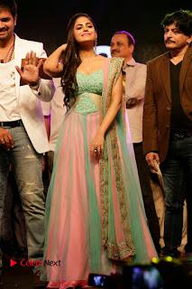 Actress Naina Ganguly Stills in Long Dress at Vangaveeti Audio Launch  0121.JPG