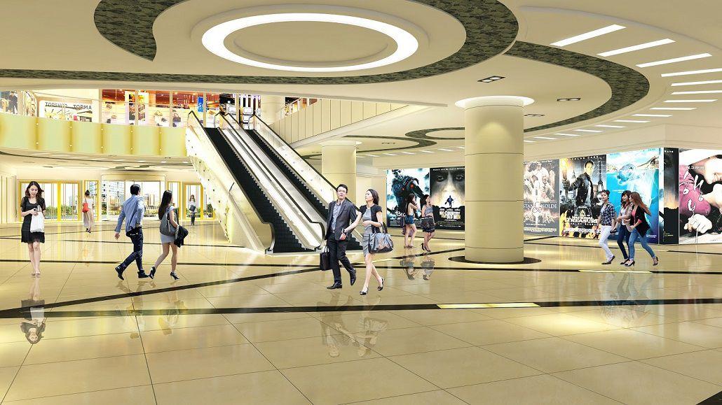 Trung tâm thương mại tại dự án Goldseason 47 Nguyễn Tuân