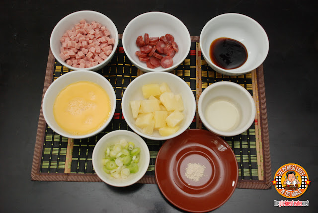 Island style fried rice ingredients