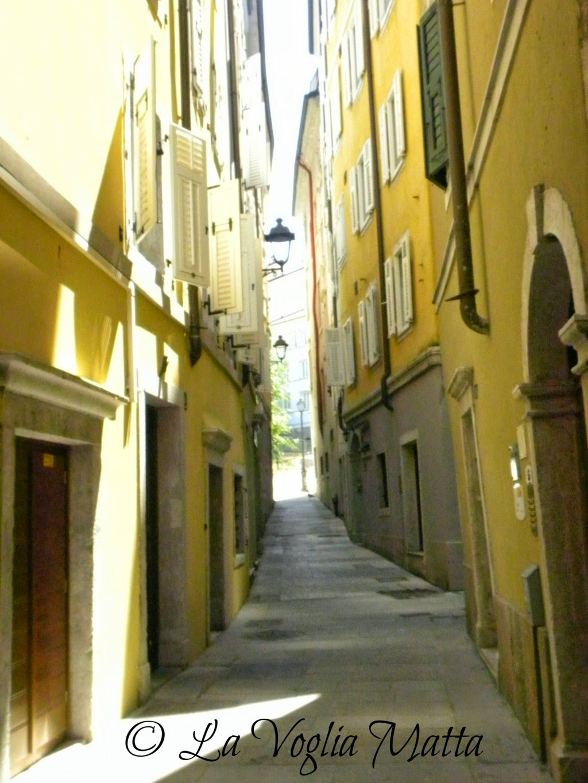 vicoli di Cittavecchia a Trieste