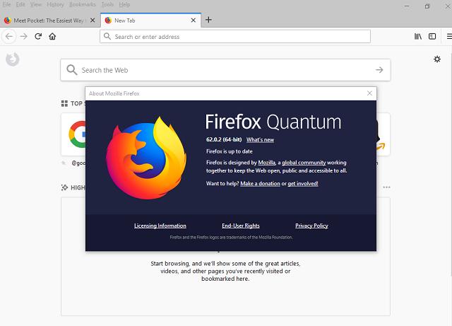 تحميل متصفح الإنترنت Mozilla Firefox 62 0 2 Arzalpro
