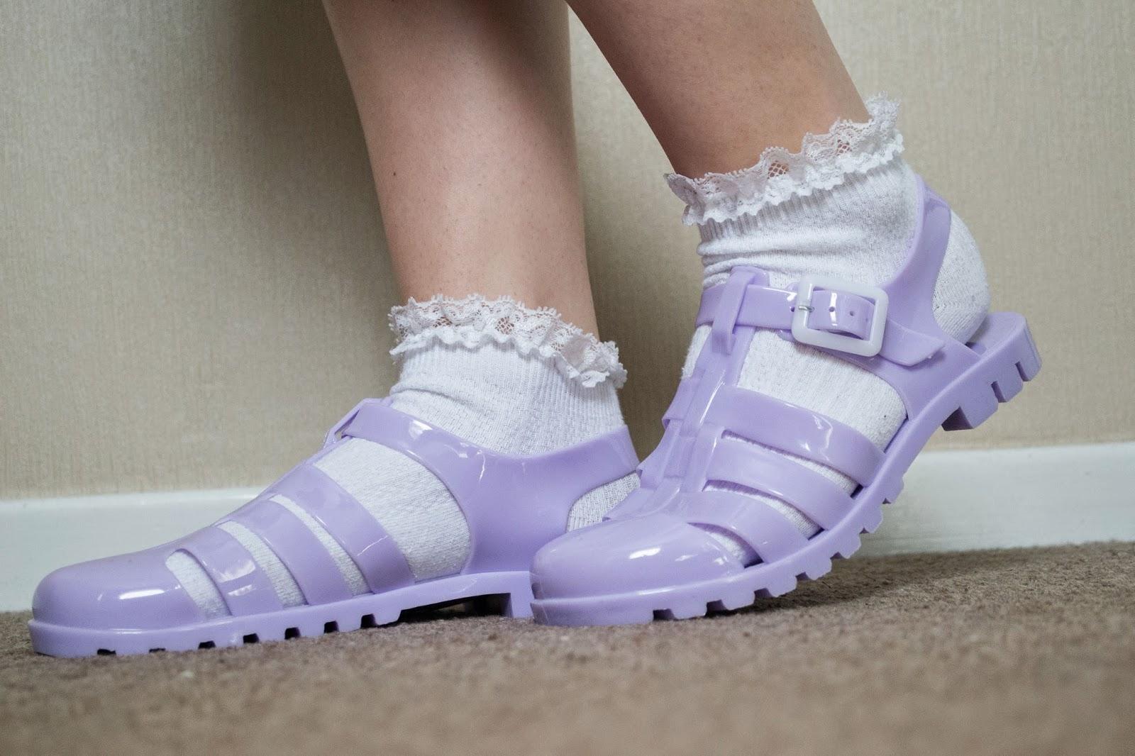 Black Jelly Shoes Primark