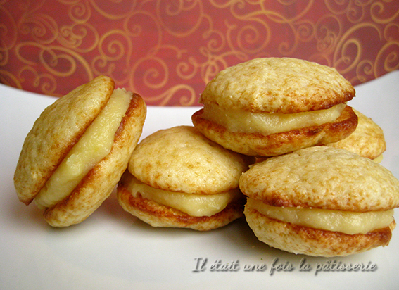 whoopies avec lemon curd