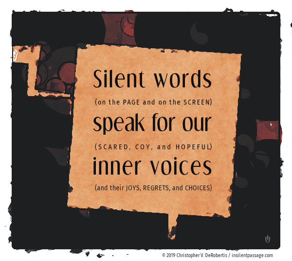 Todays Tendril... [20191221] - Silent Words Copyright 2019 Christopher V. DeRobertis. All rights reserved. insilentpassage.com