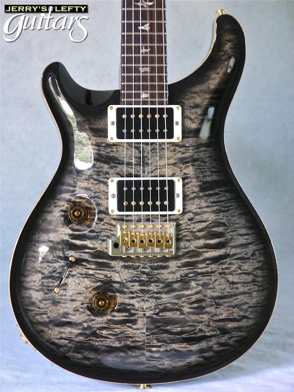 jerry 39 s lefty guitars newest guitar arrivals updated weekly prs custom 24 charcoal burst. Black Bedroom Furniture Sets. Home Design Ideas