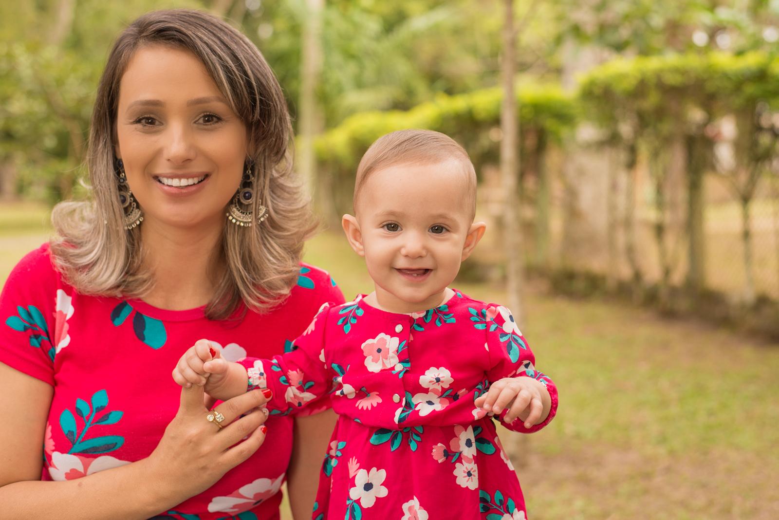 look mãe e filha