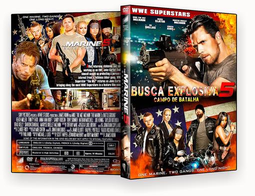 Busca Explosiva 5 Campo De Batalha 2017 DVD-R