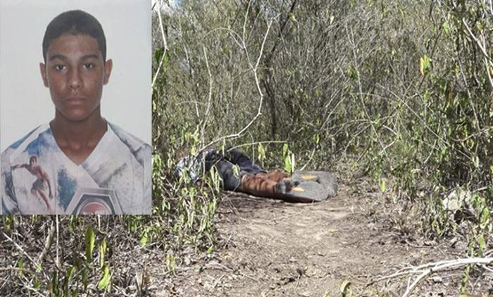 Adolescente de 14 anos é encontrado morto em matagal