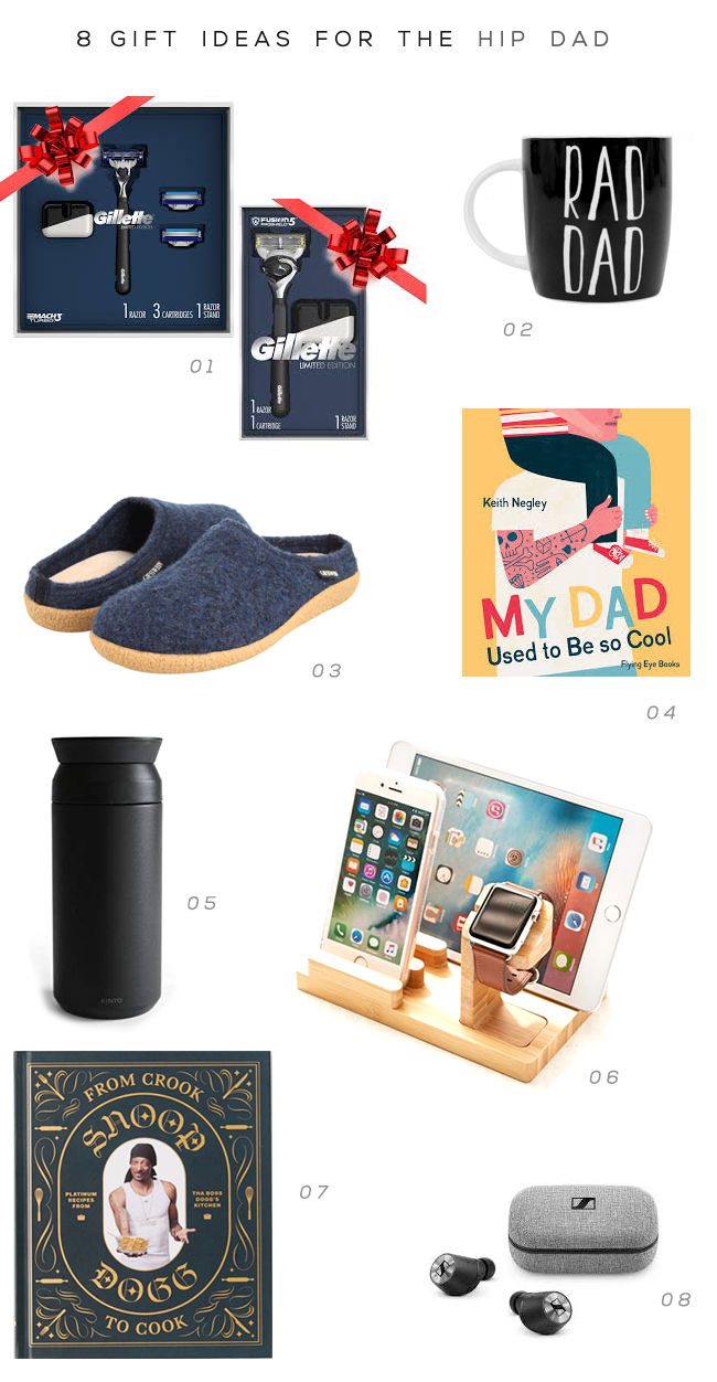 8 Gift Ideas for the Hip Dad