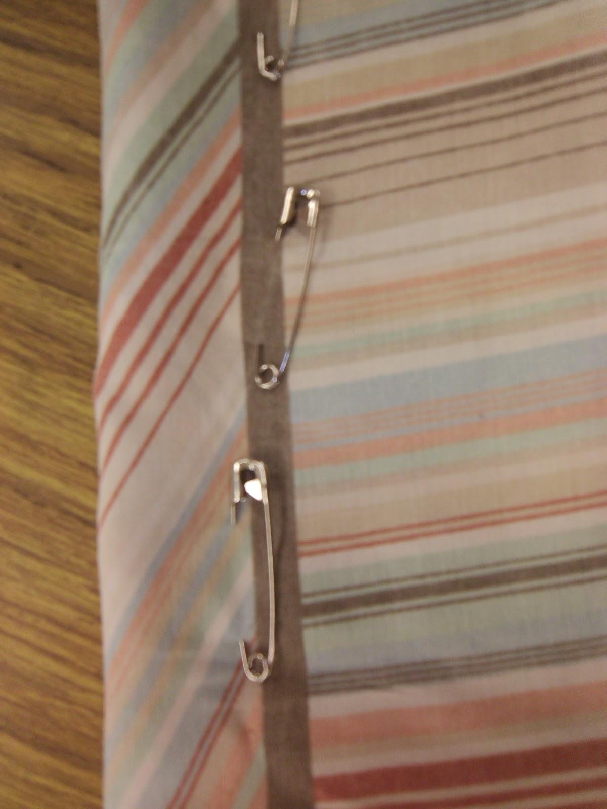 no sew chair pockets lounge steel base the pinterest diaries pillowcase
