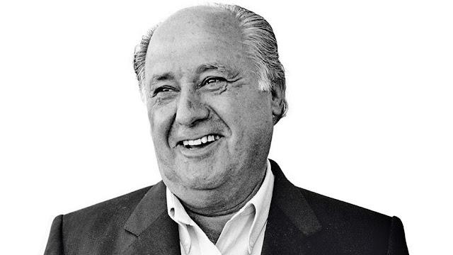 Amancio Ortega Bos dari perusahaan ternama ZARA