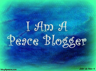 I am a peace blogger