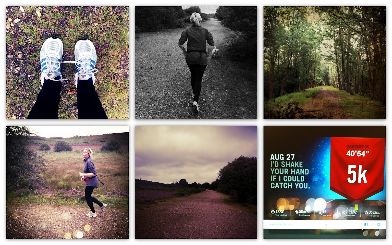 lifestyle blogger starting running