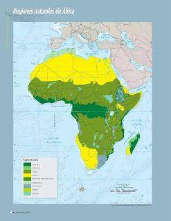 Apoyo Primaria Atlas de Geografía del Mundo 5to. Grado Capítulo 2 Lección 4 Regiones Naturales de África
