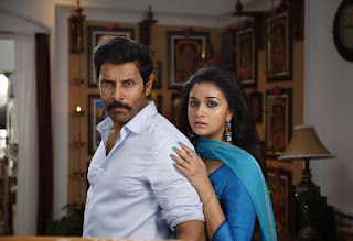 Keerthy Suresh with Vikram in Swamy Sequel