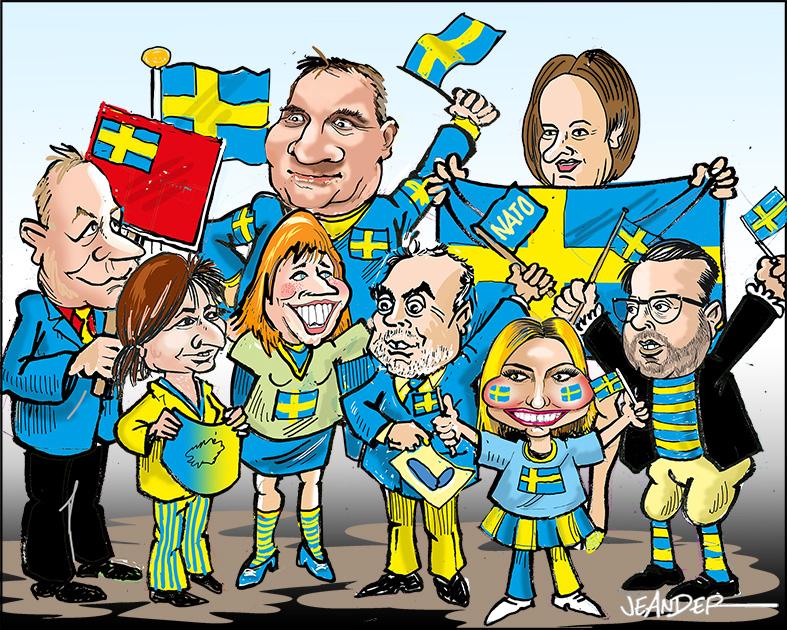 JEANDERS BILDBLOGG: Svensk, svenskare, svenskast
