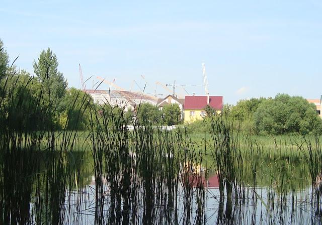 """Пос. Радиоцентр, озеро, стадион """"Самара Арена"""""""