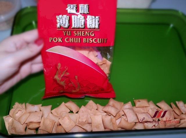 chinese new year pok chui biscuits yusheng recipe
