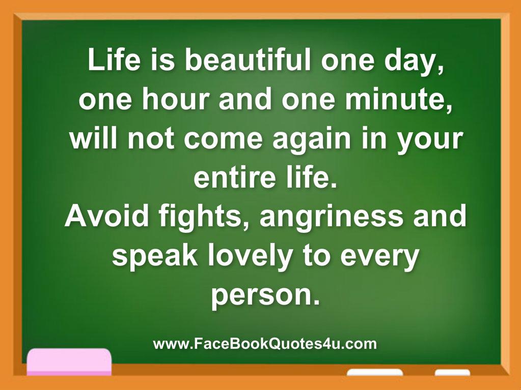 Beautiful Life Quotes For Facebook. QuotesGram