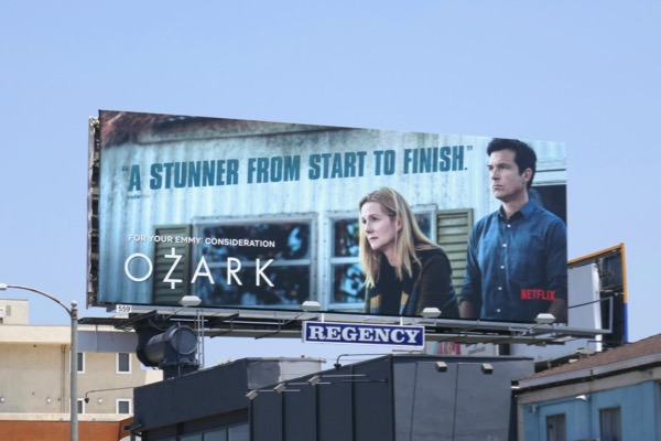 Ozark 2018 Emmy FYC billboard