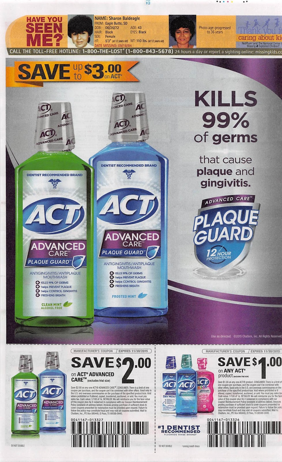 herbal essence coupon insert
