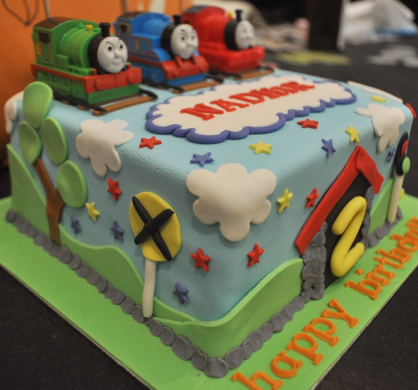 Momatoye Thomas And Friends Cake Nadhir