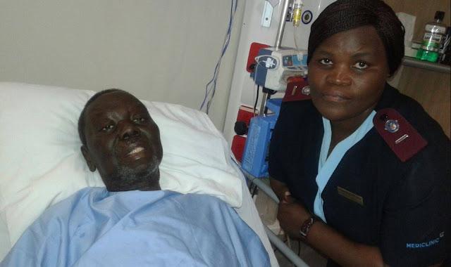 last photo of Morgan Tsvangirai alive