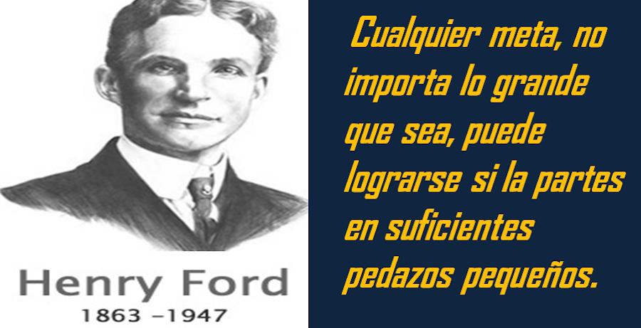 Frase de Henry Ford
