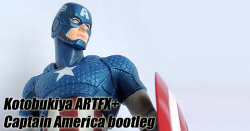 Bootleg Kotobukiya Captain America ARTFX+ szobor bemutató