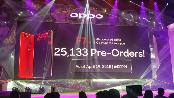 OPPO F7 Philippines Pre-Orders