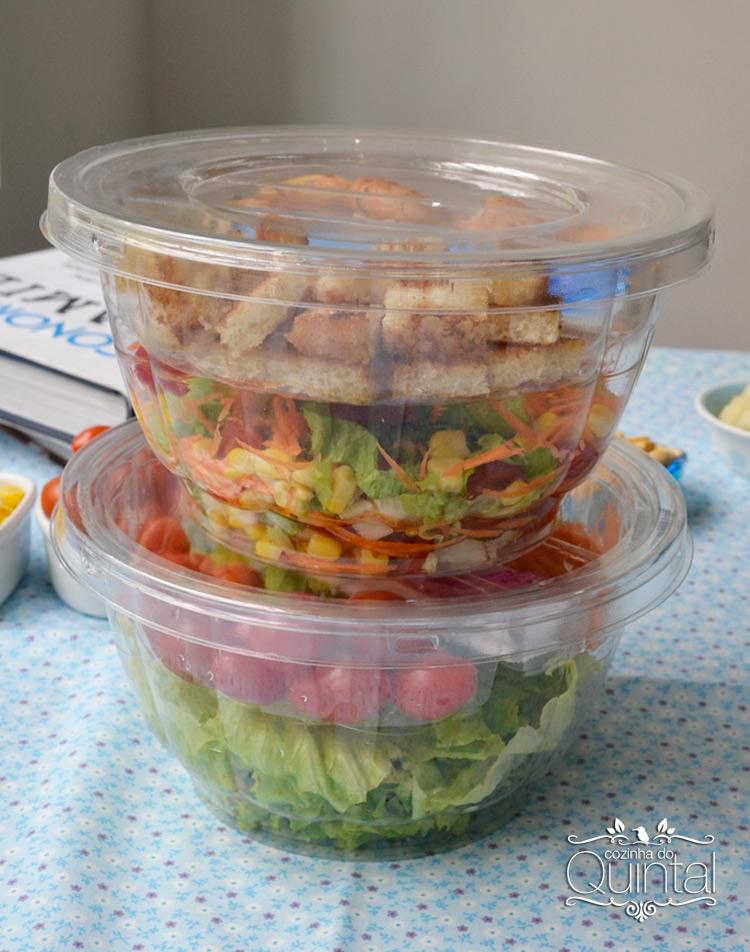 Salada no Pote é tendência de negócio que veio para ficar! Na Cozinha do Quintal você confere todas as dicas e novidades =)