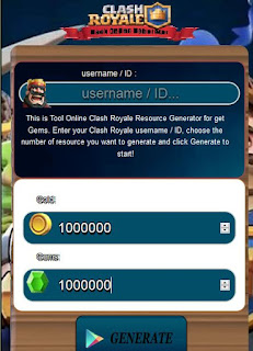 Clash Royale Cheats Free Gems Gold for Phone