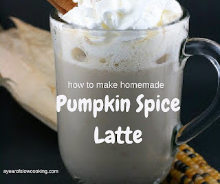 Homemade, gluten free, pumpkin spice latte without funky chemicals or aftertaste.