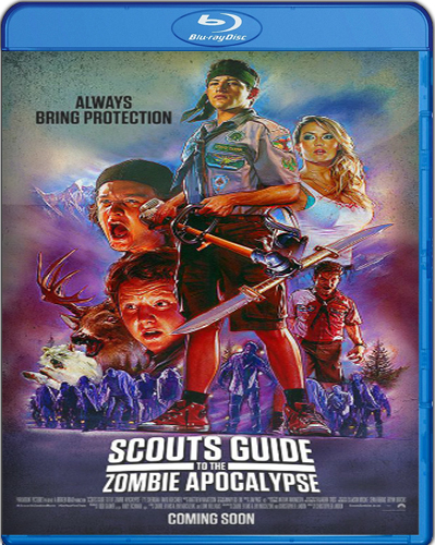 Scout's Guide to the Zombie Apocalypse [BD25] [2015] [Latino]
