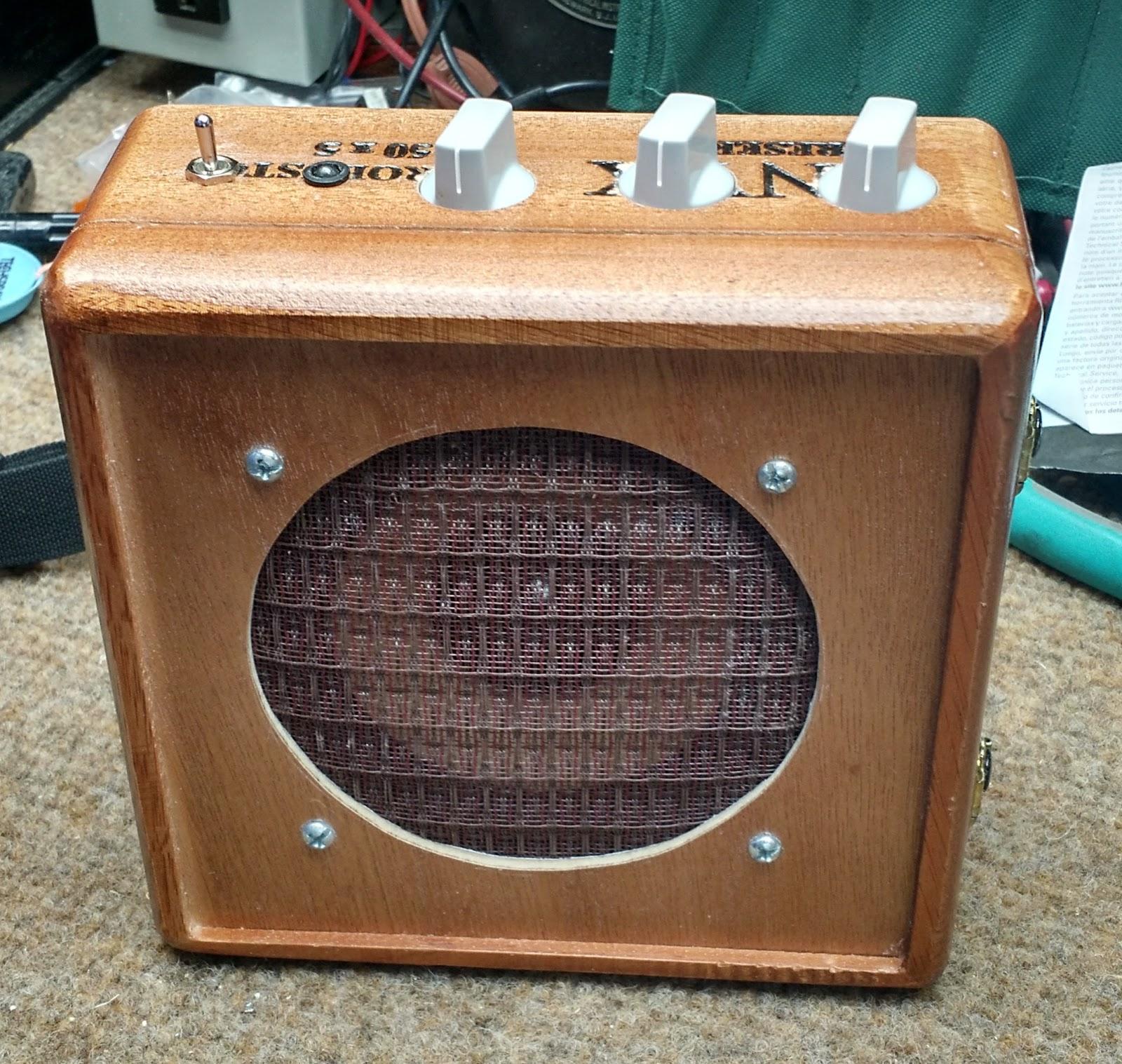 medium resolution of making a cigar box amp