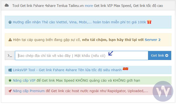 Hướng dẫn get link Fshare tải tốc độ cao không cần tải khoản VIP, không tốn tiền