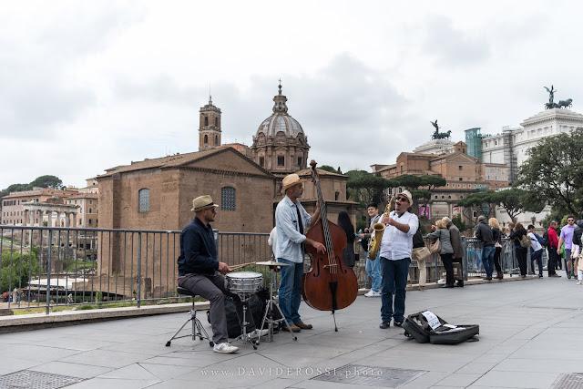 Musicisti di strada - Fori imperiali