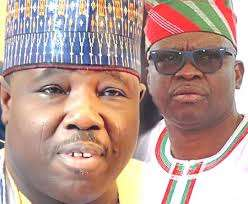 Ali Modu Sheriff and Ayodele Fayose