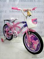 3 Sepeda Anak GoodWay Diva 18 Inci