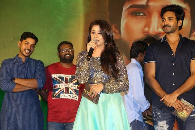 Nikki Galrani At Marakatamani Movie Audio Launch Stills
