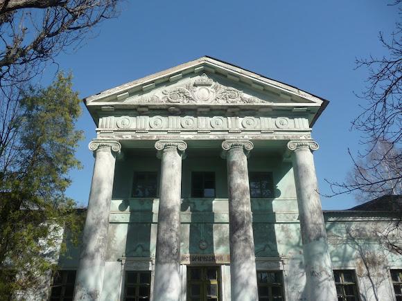 Прелестное. Дворец Бантыша. 1837 г. Колонны и портик
