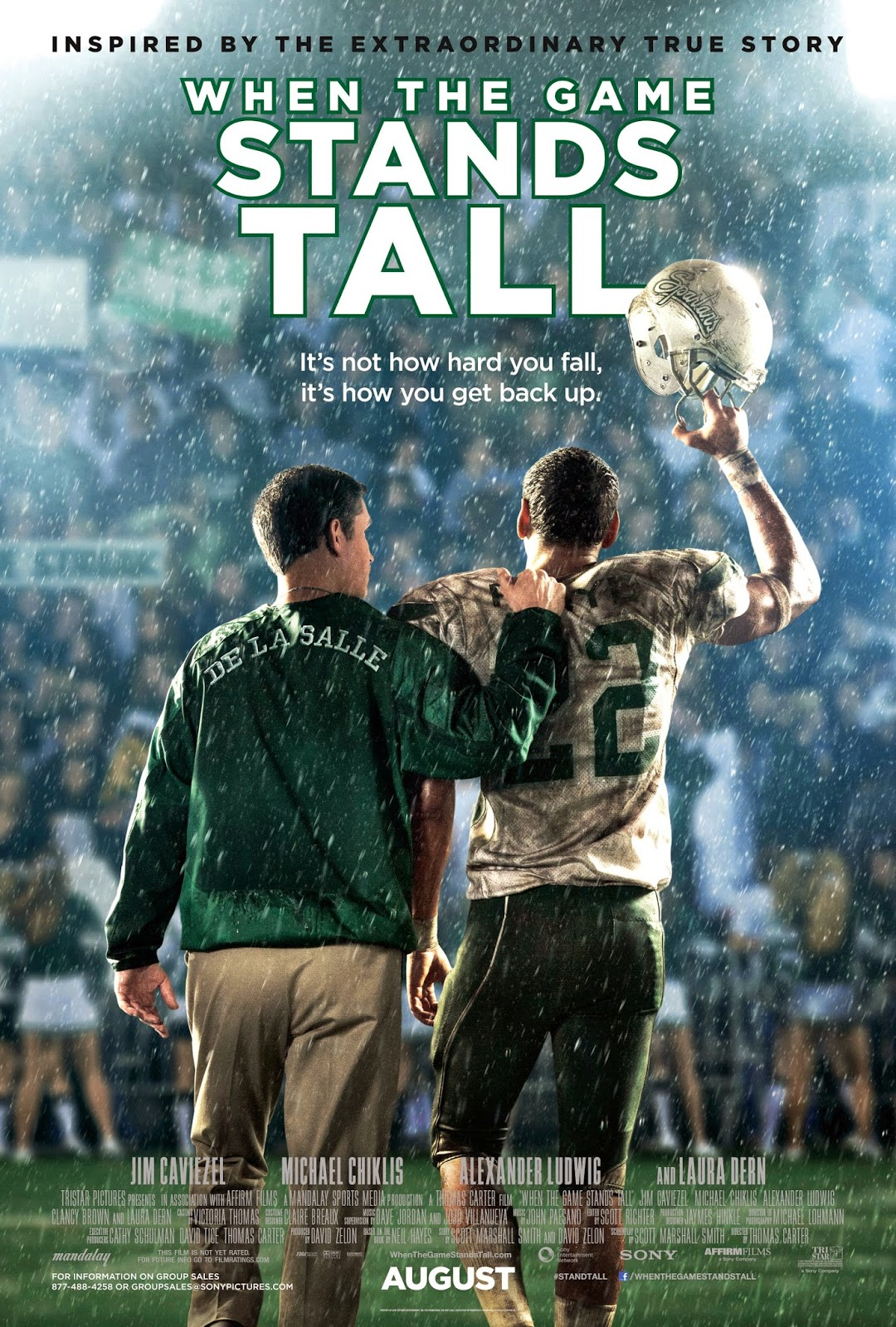 When the Game stands Tall movie review, Yes/No Films