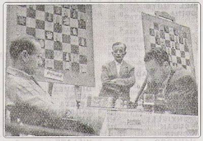 Partida Pomar - Albareda en el II Campeonato de España de Ajedrez por Equipos, Bilbao 1957