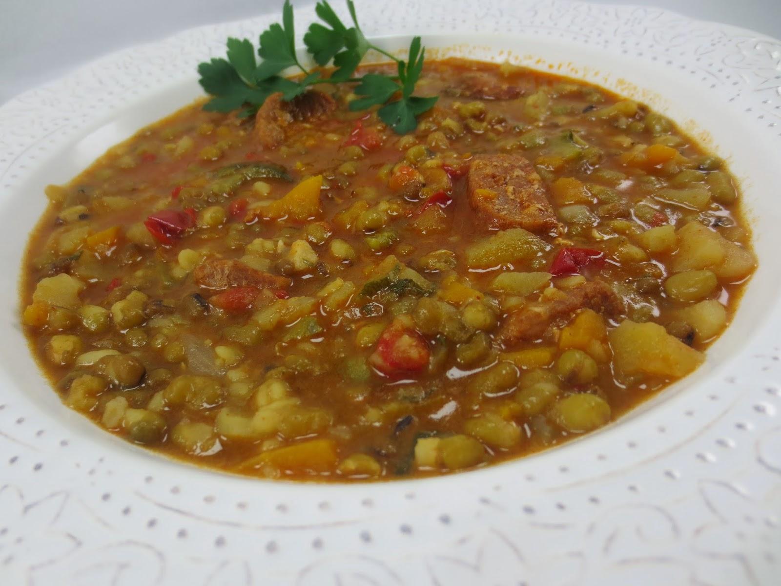Potaje de soja verde Ana Sevilla Cocina tradicional