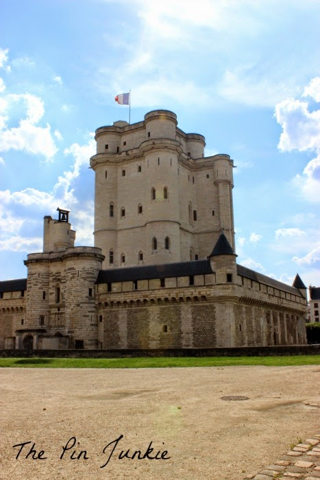 The Keep at Vincennes Paris France