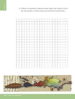 Apoyo Primaria Desafíos Matemáticos 4to. Grado Bloque IV Lección 81 Relación perímetro-área