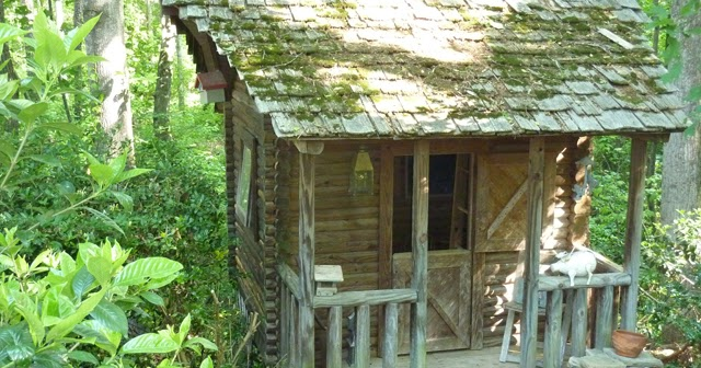 Aplaceimagined Log Cabin Playhouse