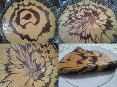 ebruli kek nasıl yapılır