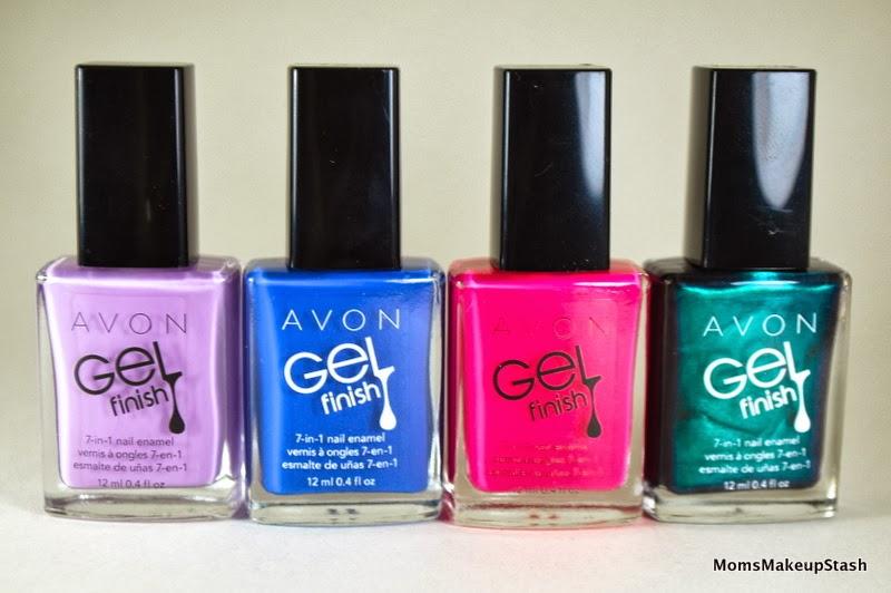 Review Avon Gel Finish 7 In 1 Nail Enamel Moms Makeup Stash