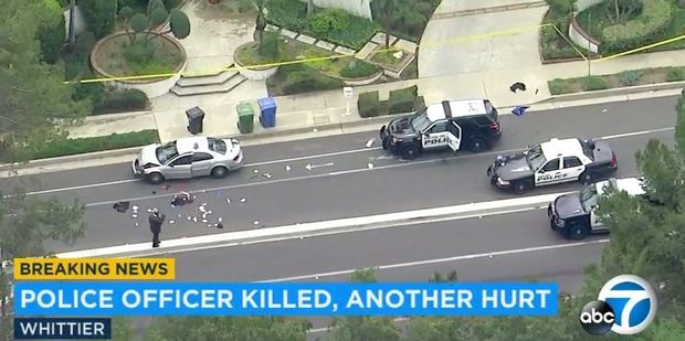 California police officer killed, another injured after investigating accident
